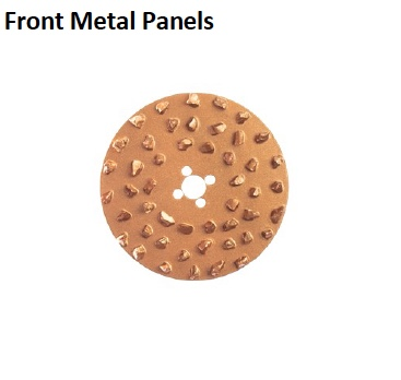 CONCRETE REMOVAL SPARES FRONT METAL PANEL