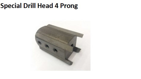 SPECIAL DRILL HEAD PRONG